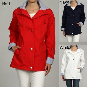 Mackintosh Red Water-Resistant Hooded Jacket 2X